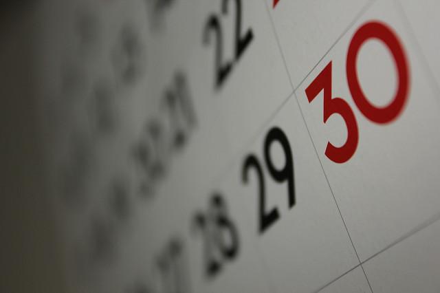 Bulletin et dates importantes